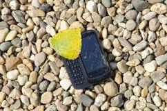 сломленный телефон Стоковая Фотография RF