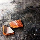 Сломленный цветочный горшок Стоковые Фото