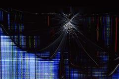 сломленный tv Стоковое фото RF