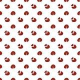 Сломленным точки деформированные красным цветом бесплатная иллюстрация