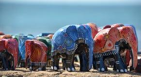 Слоны игрушки Стоковая Фотография