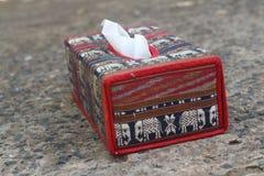 Слон коробки ткани символ Таиланда Стоковые Изображения