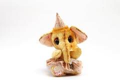 Слон положения игрушечного стоковое фото