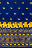 Слон с декоративной картиной Стоковая Фотография RF