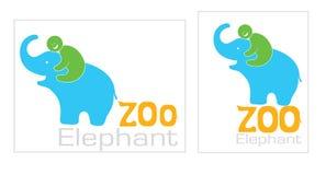 Слон с человеком Стоковые Фотографии RF