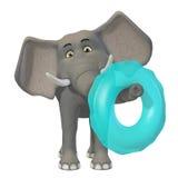 слон шаржа 3d Стоковые Изображения