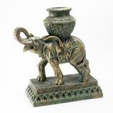 Слон Figurine бронзовый Стоковое фото RF