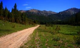 С приключения дороги стоковое изображение