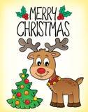 С Рождеством Христовым изображение 3 темы Стоковые Фотографии RF