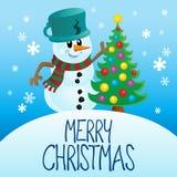С Рождеством Христовым изображение 4 темы Стоковая Фотография