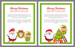 С Рождеством Христовым иллюстрация вектора подготовок иллюстрация вектора
