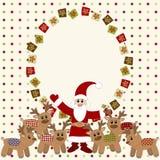 С Рождеством Христовым и карточка с новым годом Стоковое Изображение RF