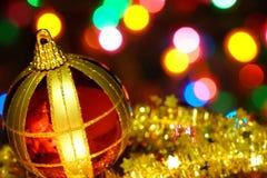 С Рождеством Христовым и с новым годом Стоковое Изображение RF