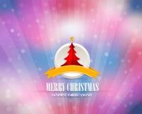 С Рождеством Христовым и предпосылка с новым годом Стоковые Изображения RF