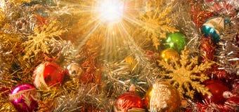 С Рождеством Христовым и счастливый Новый Год от звезды кометы Стоковое Изображение