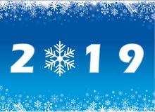 С Рождеством Христовым и счастливый Новый Год 2019 стоковое изображение rf
