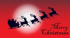 С Рождеством Христовым праздненство иллюстрация штока