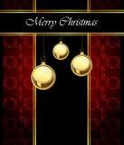 2018 с Рождеством Христовым предпосылок Стоковые Изображения RF