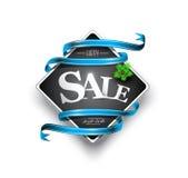 С Рождеством Христовым знамя продаж Стоковые Изображения RF