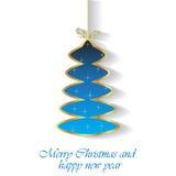 2017 с Рождеством Христовым и счастливых предпосылок Нового Года Стоковые Фото