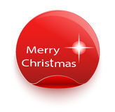 С Рождеством Христовым и с новым годом 1 приглашение карточки Стоковое фото RF