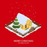 С Рождеством Христовым и с новым годом Стоковые Изображения RF