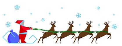 С Рождеством Христовым и с новым годом Стоковое Изображение