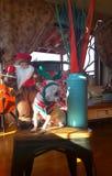 С Рождеством Христовым и с новым годом! Стоковые Фото