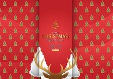 С Рождеством Христовым иллюстрация вектора предпосылки Стоковая Фотография RF