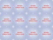 С Рождеством Христовым картина с снежинками бесплатная иллюстрация