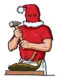 С Рождеством Христовым мой карп Стоковая Фотография RF