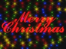 С Рождеством Христовым перевод 3d Стоковая Фотография