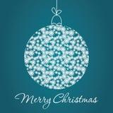 С Рождеством Христовым поздравительная открытка Стоковое фото RF