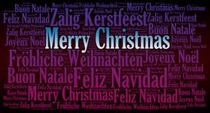 С Рождеством Христовым предпосылка праздника иллюстрация вектора