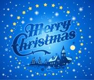 С Рождеством Христовым предпосылка Стоковые Изображения RF