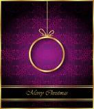 2017 с Рождеством Христовым предпосылок Стоковое Изображение