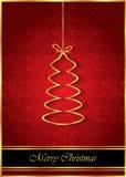 2017 с Рождеством Христовым предпосылок Стоковая Фотография