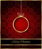 2018 с Рождеством Христовым предпосылок Стоковое фото RF