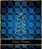 2018 с Рождеством Христовым предпосылок Стоковая Фотография
