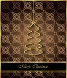 2018 с Рождеством Христовым предпосылок Стоковые Изображения