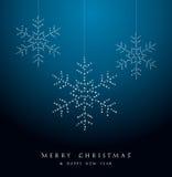 С Рождеством Христовым роскошный состав украшения. иллюстрация вектора
