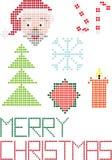 С Рождеством Христовым точки предпосылки бесплатная иллюстрация