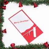 С Рождеством Христовым украшение стоковые изображения rf