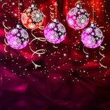 С Рождеством Христовым элегантное вызывающее мысли EPS 8 иллюстрация штока
