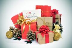 С Рождеством Христовым Стоковые Фотографии RF