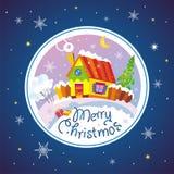 С Рождеством Христовым. Стоковые Изображения