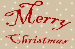 С Рождеством Христовым Стоковая Фотография