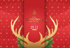 С Рождеством Христовым Ep3 иллюстрации вектора предпосылки 1 Стоковые Изображения RF