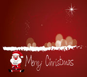 С Рождеством Христовым santa Стоковые Изображения