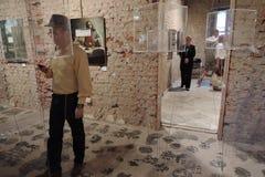 19/92 С самого начала Выставка современного искусства в Москве Стоковое Фото